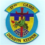 RAF 17th CAMS Dragon Keepers Badge ( 17th CAMS Dragon Keepers Badge )