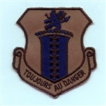 RAF 17 RS Toujous Au Danger Subdued Badge ( 17 RS Toujous Au Danger Subdued Badge )