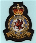 RAF 18 SQN Official Crest Badge ( 18 Squadron Official Crest Badge )
