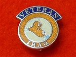 Enamel Iraq OP Telic Veterans Badge Pin