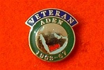 Aden Veterans Enamel Lapel Badge ( Aden Veteran Badge 1963-67 )