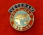 Enamel Afghanistan Veterans Lapel Pin Badge