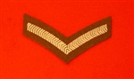 FAD Uniform LCPL Chevron ( Lance Corporal Stripe )