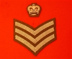Future Army Dress S/SGT Chevrons and Crown ( Colour Sergeant Crown & Stripes FAD )