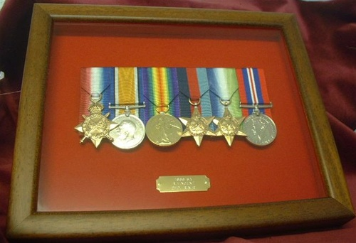This is an outstanding quality Military Medals Frame ( Presentation ...