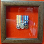 Design 16 Small Miniature Medal Frame for 1-3 miniature Medals Box Frame