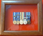 Design 16 Small Miniature Medal Frame for 3-9 miniature Medals Box Frame