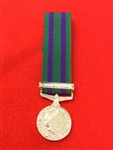 General Service Medal 2008 North Africa, Southern Asia Miniature Medal