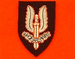 Cloth SAS OR,S Beret Badge ( Special Air Service Beret Badge )