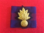 Grenadier Guards Officers Bullion Wire Beret Badge + Guards Patch.