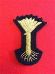 Welsh Guards Officers Bullion Wire Beret Badge