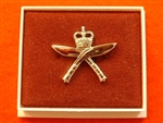 Quality Royal Gurkha Rifles Boxed Infantry Enamel Lapel Badge ( Royal Gurkha Rifles Lapel Badge )