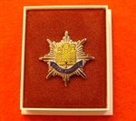 Quality Royal Anglian Regiment Boxed Infantry Enamel Lapel Badge ( RAR Lapel Badge )