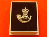 Quality The Rifles Boxed Infantry Enamel Lapel Badge ( The Rifles Lapel Badge )