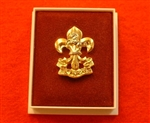 Quality The King's Regiment Boxed Infantry Enamel Lapel Badge ( KR Lapel Badge )