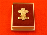 Quality Royal Regiment of Wales Enamel Lapel Badge ( RRW Lapel Badge )