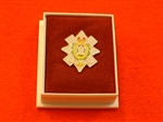 Qualty The Black Watch Enamel Lapel Badge ( TBW Lapel Badge )