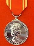Full Size Fire Brigade Long Service and Good Conduct Medal