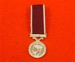King George V1 Long Service & Good Conduct Miniature Medal.