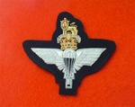Parachute Regiment Blazer Badge (  PARA Bullion Wire Blazer Badge )