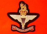 Parachute Regiment Bullion Wire Blazer Badge.