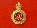 First Life Guards Cap Badge ( LG Metal Beret Badge )