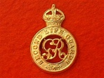 Second Life Guards Cap Badge ( LG Metal Beret Badge ) King`s Crown