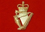 The Ulster Defence Regiment Metal Cap Badge