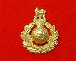 Royal Marines Cap Badge King`s Crown