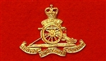 Royal Artillery Beret Badge ( RA Beret Bi-Metal Badge )