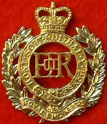 This Is A Fantastic Royal Engineers Metal Cap Beret Cap