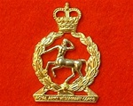 Royal Army Veterinary Corps ER 11 Cap Badge