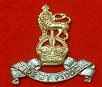 Royal Army Pay Corps Kings Crown Cap Badge