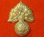 Royal Fusiliers Metal Cap Badge