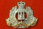 The Suffolk Regiment Cap Badge SR Queen`s Crown
