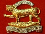 Leicestershire Regiment Metal Cap Badge