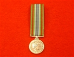 British Forces and Civilian Service Ebola Miniature Medal ( Ebola Miniature Medal )