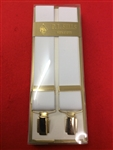 Sgt & WO's Mess Dress White Braces Clip Fixing Braces