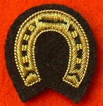 Mess Dress Farriers Horse Shoe Trade badge