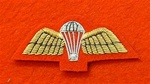 Mess Dress Para Badge Gold on red
