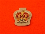 Staff Sergeant Crown Intelligence Corps Mess Dress Badge Grebe Grey ( IC Mess Dress Badge )