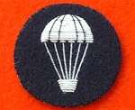 Number 1 Dress Parachute Qualification Badge