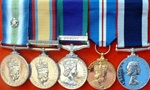 Sample of Swing Mounting of Medals