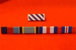 Distinguished Flying Cross 39-45 Star Air Crew Europe Star France & Germany Star & War Medal Ribbon Bar ( Pin Type )