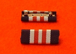 Military Medal Ribbon Bar Pin Type MM Ribbon