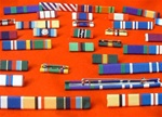 Choose Your Own Medal Ribbon Bar Pin Combinations ( Your Own Design )