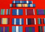 Choose Your Own Medal Ribbon Bar Sew Combinations ( Your Own Design )