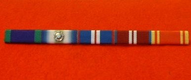 FIRE SERVICE LONG SERVICE MEDAL RIBBON BAR DIAMOND JUBILEE