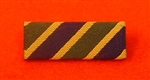 Territorial Army Commemorative Medal Ribbon Bar Pin