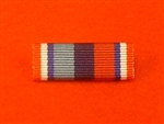 Veterans Star Commemorative Medal Ribbon Bar Pin